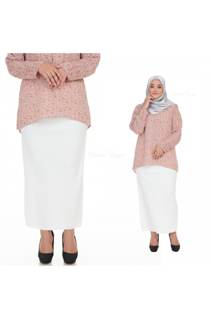 Amoree PENCIL SKIRT  high quality stretchable (S to XL)free size (4705)